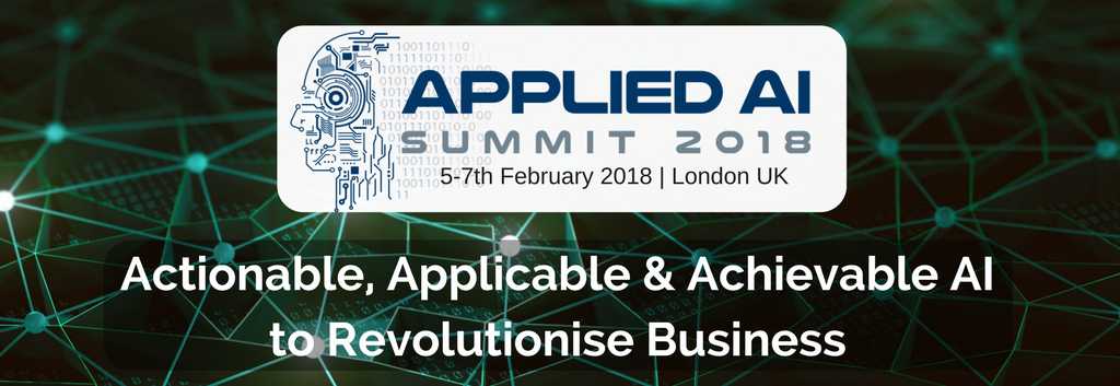 Applied AI Summit will give you the tools for your AI journey, 5-7 Feb, London